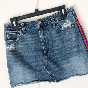 Abercrombie & Fitch vintage A-line Jean skirt